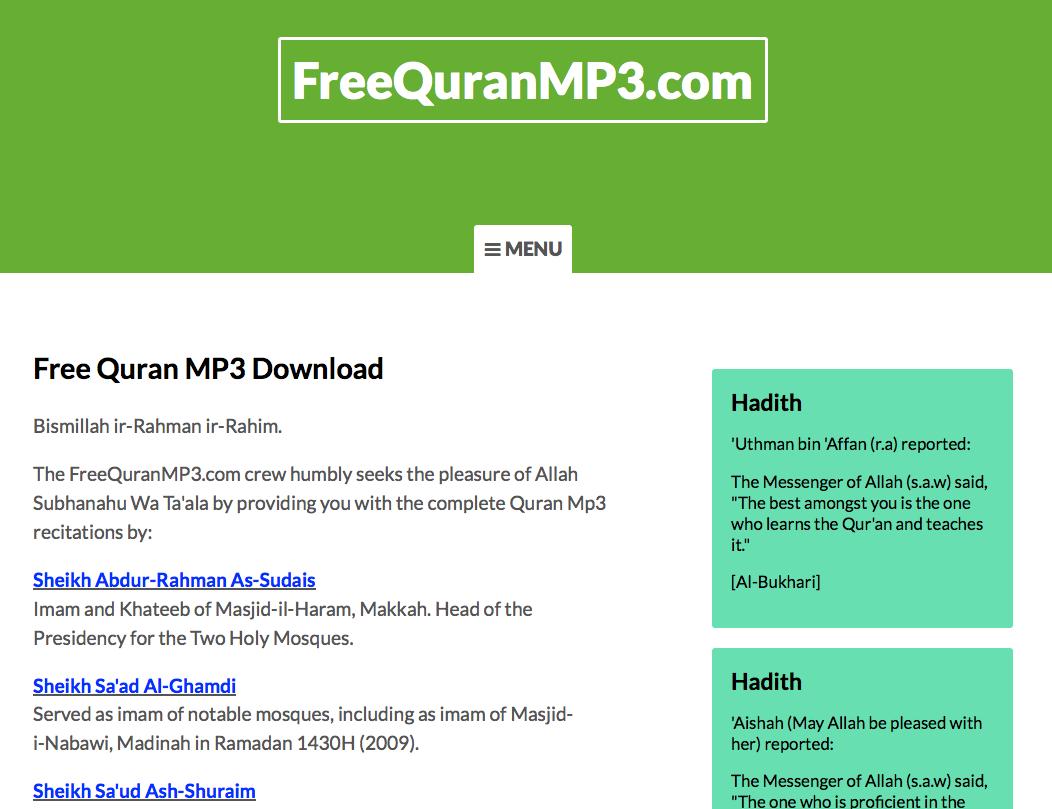 Al Sudais Quran Recitation Downlo FREE